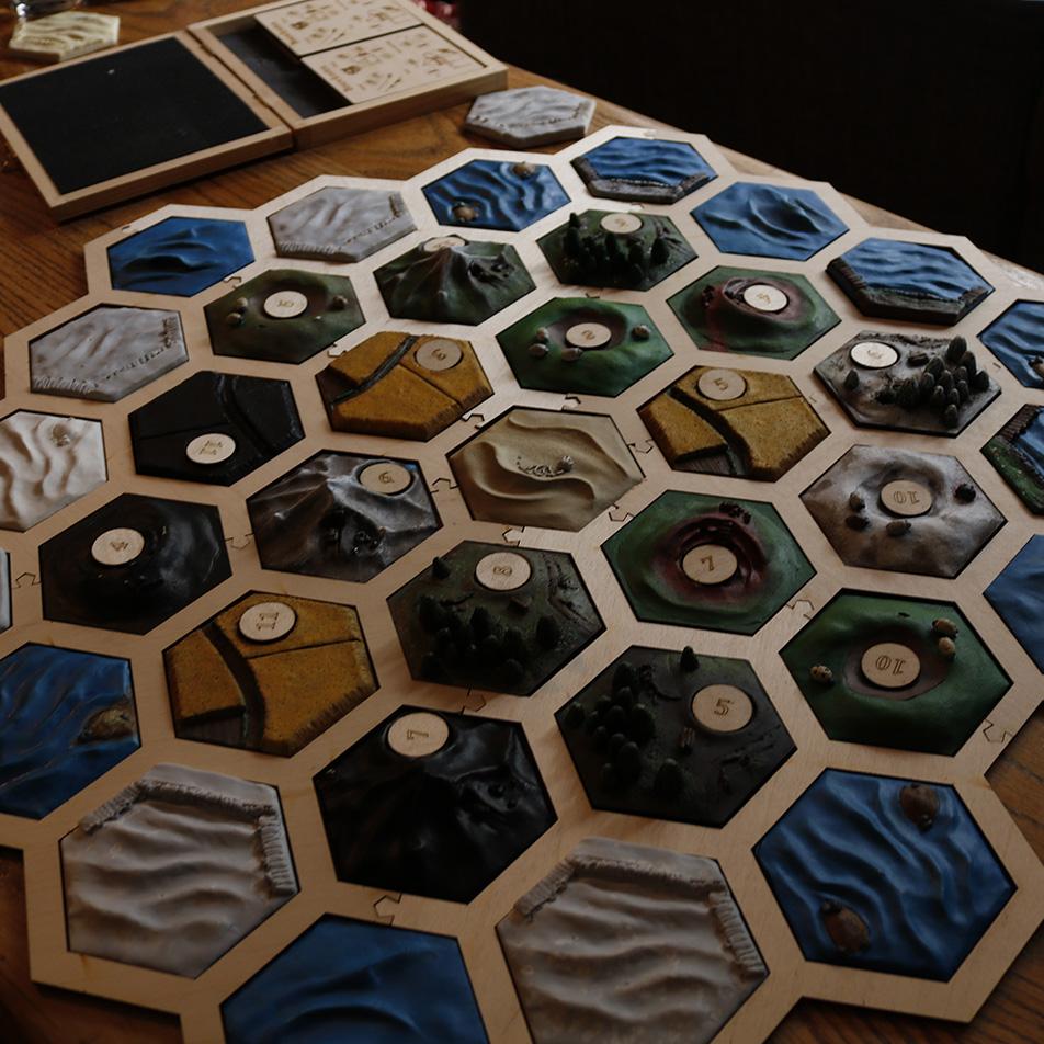 Kolonisten van catan 3D variant
