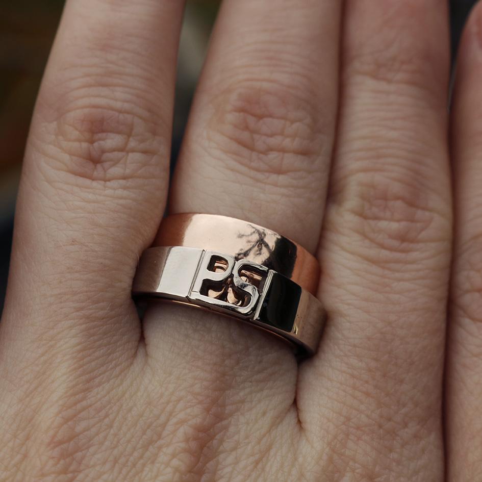 Initialen ring
